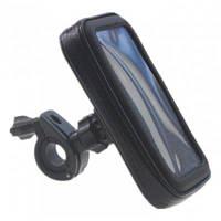 Водонепроницаемый держатель телефона для велосипеда мотоцикла Чёрный
