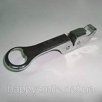 Металлическая точилка-открывашка для ножей