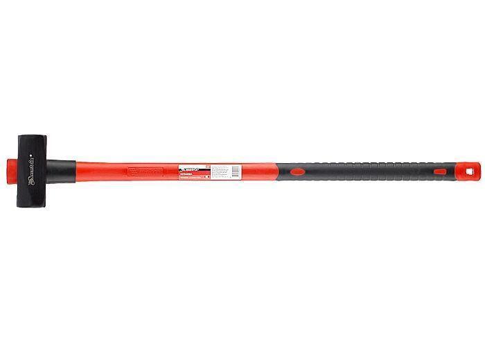 Кувалда, 5000 г, фиберглассовая прорезиненная ручка MTX MASTER