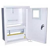 Шкаф монтажный распределительный внутренней установки с замком под 3Ф  счетчик Лоза ШМР-3Ф-12В