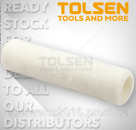 Малярный валик Tolsen 225 мм (Диаметр: валик 38мм,ворс 7мм)  (100шт.)