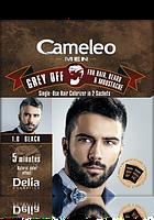 Краска для мужчин для волос, бороды и ус GREY OFF CAMELEO Delia Cosmetics