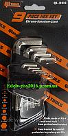 Набор шестигранных ключей QL-006 9 предметов (1,5-10 мм).