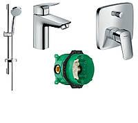 Набор скрытого монтажа для ванны Hansgrohe Talis E хром 71710000+27772000+71745000+01800180