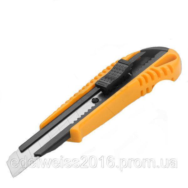 Нож Tolsen строительный с металлической направляющей