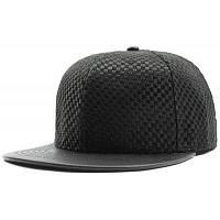Крошечные Плед Сплайсированные Плоскими Полями Бейсбол Шляпы Чёрный