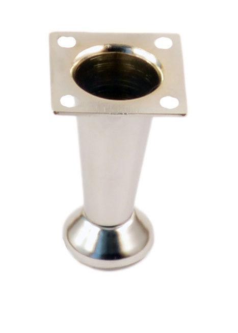 Опора мебельная регулируемая  Н-100 мм конусная