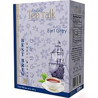 Чёрный цейлонский чай English Tea Talk с Бергамотом (Earl Grey) 100г