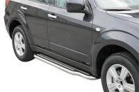 Пороги боковые Misutonida для Subaru Forester 2008-2012