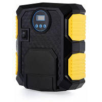 Carzkool czk-3609 Квадратный электронный цифровой воздушный насос надувной Жёлтый и чёрный