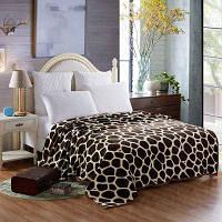Летнее броское одеяло с узором жирафских полос в стиле Европы - жираф