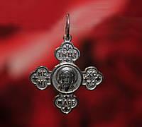 Крест православный серебряный