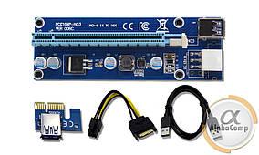 Райзер PCI-E 6pin →SATA + USB3.0 (ver.06)