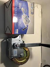 Лебедки автомобильные 1200 фунтів/800кг, фото 3