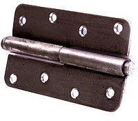 Разъемный дверной навес 130 мм (черный)