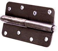 Разъемный дверной навес 85 мм (черный)