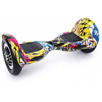 10 дюймов смарт самобалансирующийся скутер двойные надувные шины каракулями модели