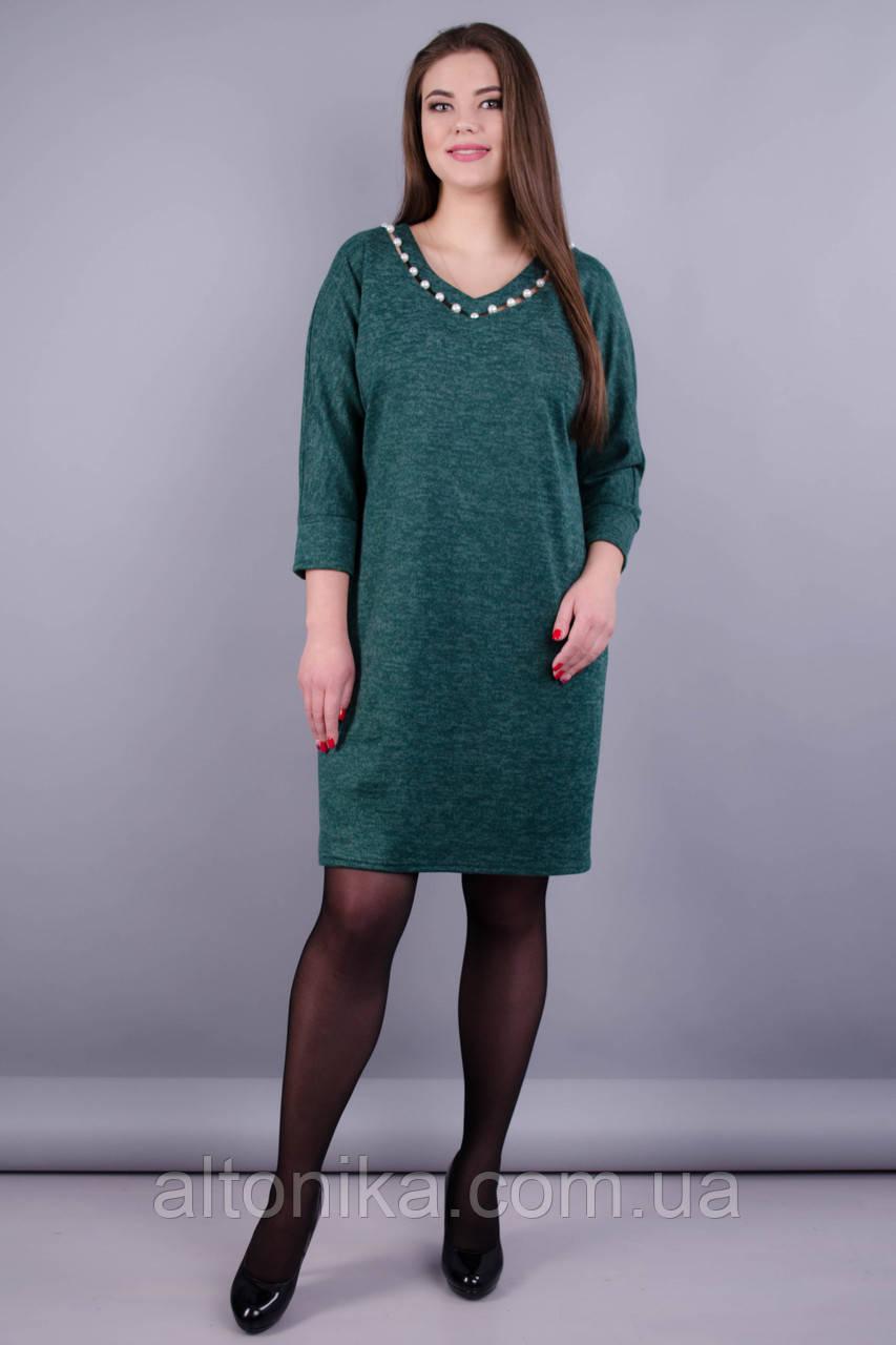 Берта. Оригинальное платье больших размеров для женщин. Бутылка. 58 60 62 64
