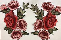 Розы клеевые и пришивные