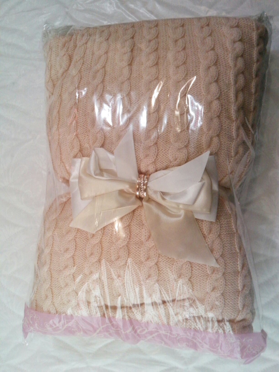 теплый вязаный конверт одеяло на выписку из роддома цена 513 грн