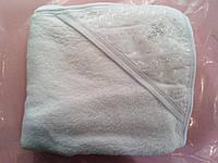 Крыжма махровая для крещения с уголком