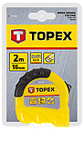 Рулeткa TOPEX 27C308 8м / 25 мм двухцветная Shiftlock, фото 2