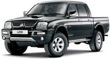 Пороги на Mitsubishi L 200 (1995-2006)