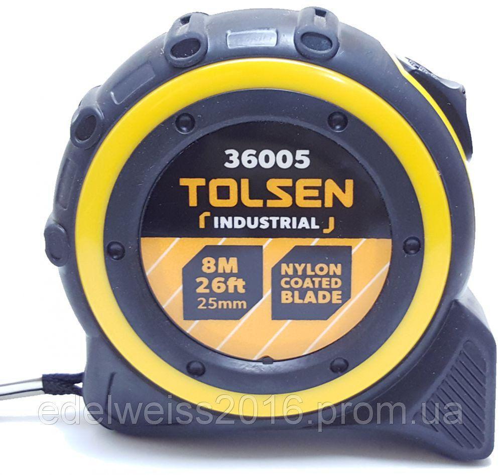 Рулетка Tolsen, 8м*25мм