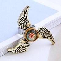 Крылья ангела ВДГ Непоседа Спиннер кольцо Бронзовый