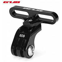 Губ 609 велосипед держатель Адаптер для GoPro камеры фонарик Чёрный