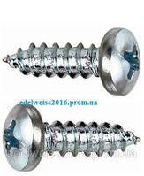 Саморез с полукруглой головкой (DIN 7981) 3,5х25  (1000 шт/упак.)