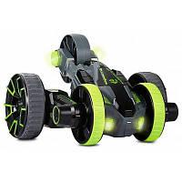 208008 5 колеса дистанционного управления Race Stunt автомобилей с светом СИД Зелёный