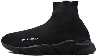 "Мужские кроссовки Balenciaga Speed Trainer ""Triple Black"" (люкс копия)"