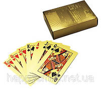 Прикольный подарок Карты игральные «Евро золотой»