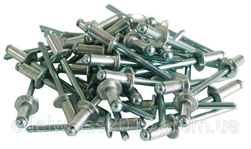 Слепые заклепки алюминиевые, 2.4*8мм ,50шт.