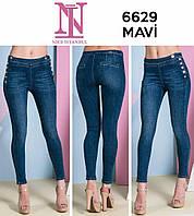 6acee9456c35 Женские коттоновые брюки с боковой застежкой, в расцветках, Турция 1, 27
