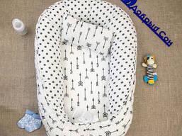 Кокон позиционер для новорожденного