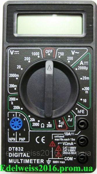 Тестер DT-832 цифровой