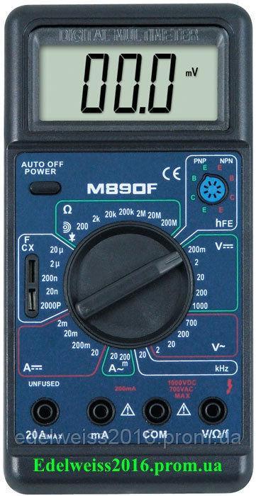 Тестер M-890F цифровой