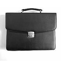 Портфель для документов малый 7121, иск.кожа., черн
