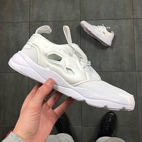 Мужские кроссовки Reebok FuryLite Triple White V67158, фото 2