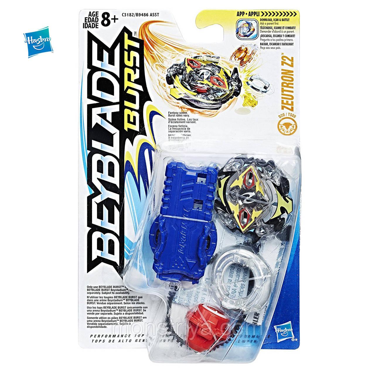 Бейблэйд Вибух волчок Зейтрон с пусковым устройством Beyblade Burst  ZEUTRON Z2