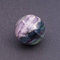 Шар сувенир из натурального камня Флюорит d-2,9(+-)см разноцветный