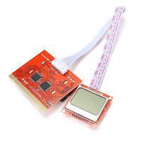 Тестовая Post карта PTI8 для ПК с LCD экраном профессиональная версия Красный