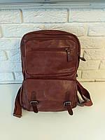 """Большой рюкзак для ноутбука, спорта, городской """"Берлин Brown"""""""