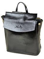 PODIUM Сумка Женская Рюкзак кожа ALEX RAI 2-01 8504 black