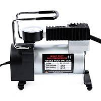 12V автомобиль Электрический насос один-цилиндровый воздушный компрессор Серебристый