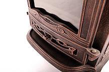 Чугунная печь-камин BARON 7kW, фото 2