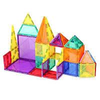 Маг-мудрость 3Д 48 шт магнитные здание плитки мульти