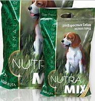 Корм Нутра Микс Дог Nutra Mix Dog Gold Small Breed Adult ДЛЯ ВЗРОСЛЫХ СОБАК мелких пород 3 кг